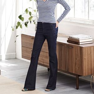 Banana Republic Sailor Flare Jeans Size 28
